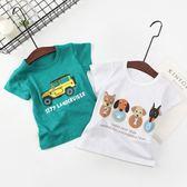 T恤—潮夏季男童女童純棉圓領短袖t恤小中大童兒童全棉半袖打底衫1 依夏嚴選