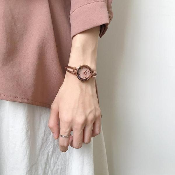 北歐輕奢小眾手錶女學生韓版簡約小錶盤復古港風文藝小巧精致chic 童趣屋