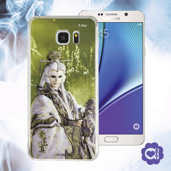 【亞古奇 X 霹靂】素還真 ◆ Samsung 全系列 Note 5/A8/S7/S7edge/J7 雙料材質手機殼