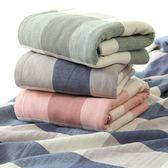 純棉成人浴巾吸水加大加厚柔軟家用紗布大毛巾不掉毛情侶抹胸    琉璃美衣