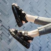 厚底涼鞋 運動涼鞋女夏2019新款百搭仙女風網紅ins潮鞋厚底松糕羅馬沙灘鞋【週年慶八折】