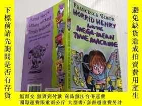 二手書博民逛書店Horrid罕見Henry and the Mega-Mean Time Machine可怕的亨利和超級平均時間機