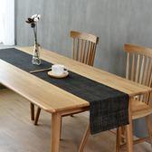 北歐定制桌旗日式茶桌純色電視櫃pvc長條桌布隔熱茶几墊現代簡約【酷我衣櫥】