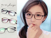 Glint.TR90塑膠鈦簡約超細方框光學配鏡框眼鏡【p648】*911 SHOP*