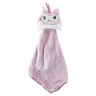 小禮堂 酷洛米 可掛式造型擦手巾 吸水毛巾 擦手毛巾 30x30cm (紫 大臉) 4990270-12806