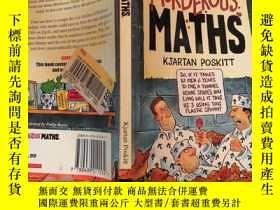 二手書博民逛書店mort罕見murderous maths 莫特兇殘的數學Y200392 不祥