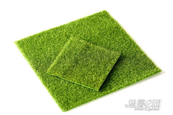 假苔蘚草皮15*15cm 微景觀創意 假苔蘚生態 瓶裝飾草坪 Be Fashion