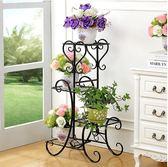 鐵藝花架落地式花盆架多層室內外歐式花架 巴黎春天
