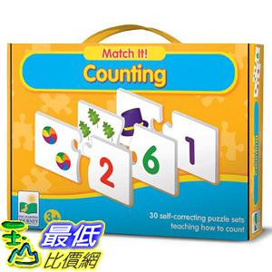 [美國直購] 2016美國暢銷兒童書 Counting The Learning Journey Match It!