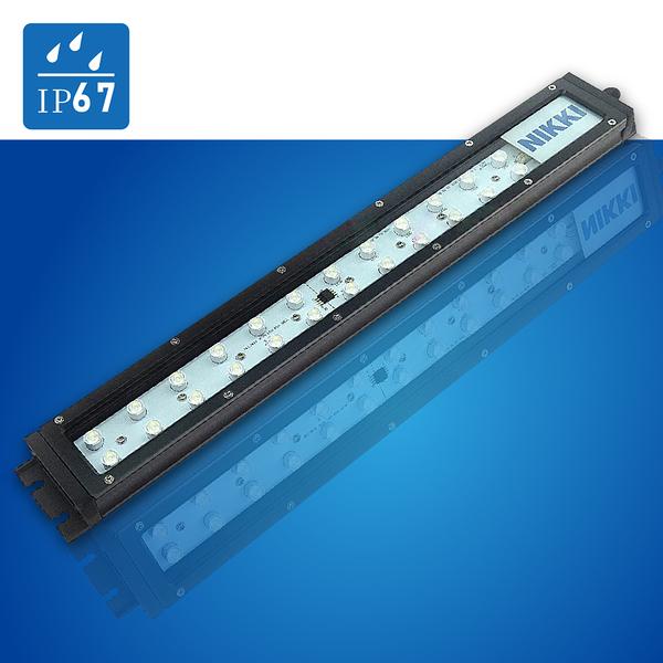 (日機) LED鏡頭式 NLE40C-DC 照度3250 lx 光通量2850lm 28W IP67 電線長度3m