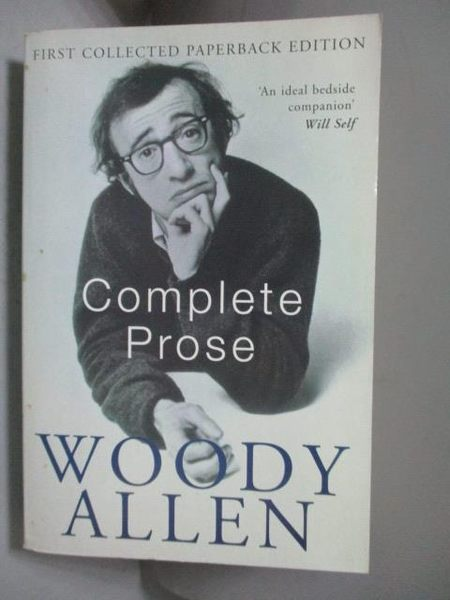 【書寶二手書T2/原文書_KCU】TheComplete Prose by Allen, Woody ( Author