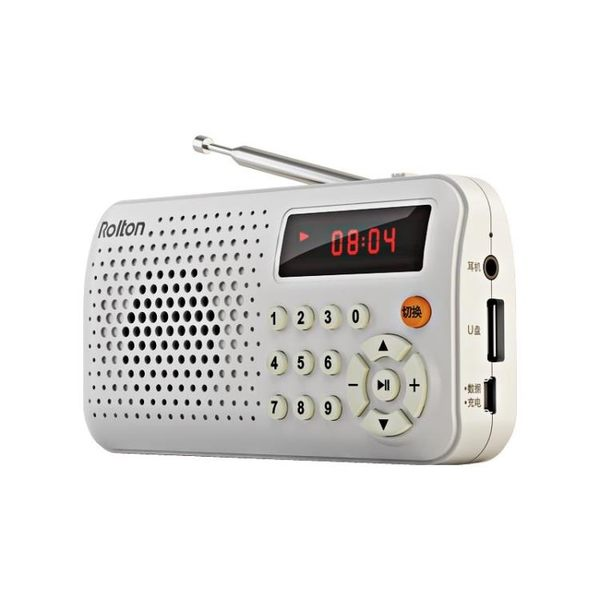 Rolton/樂廷 T30迷你收音機老人可充電便攜老年fm調頻廣播半導體【全館鉅惠85折】