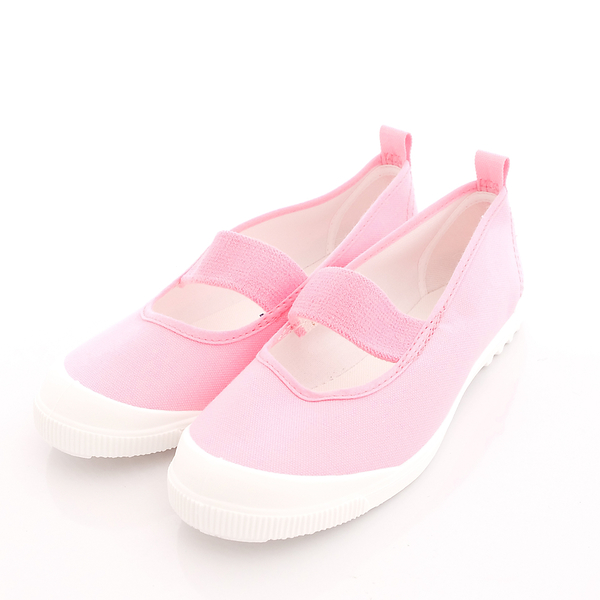 日本Moonstar機能童鞋 日本進口抗菌室內鞋 MS1931粉(中大童段)