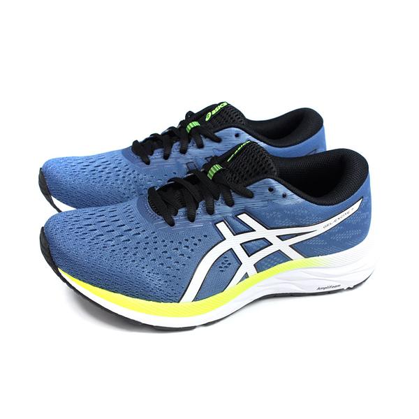 亞瑟士 ASICS GEL-EXCITE 7 運動鞋 灰藍色 男鞋 4E寬楦 1011A656-404 no470