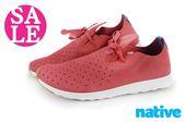 native APOLLO MOC 休閒鞋 情侶鞋 熱銷紅 阿波羅 洞洞鞋H9448#紅色 零碼出清