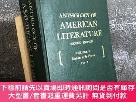 二手書博民逛書店Anthology罕見of American Literature Volume 2Y439422 Georg
