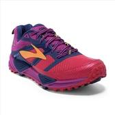 樂買網【BROOKS】18SS 緩衝型 女越野鞋 Cascadia 12系列 B楦 1202331B644 送壓縮腿套