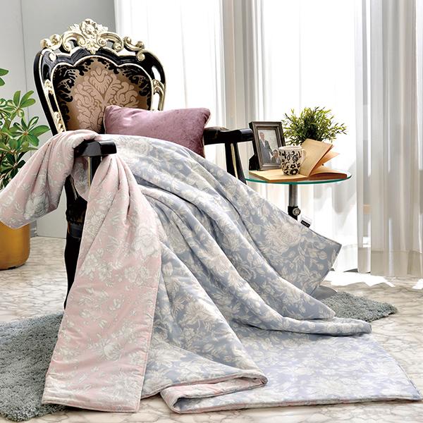 義大利La Belle《芙蘿拉》純棉涼被(5x6.5尺)