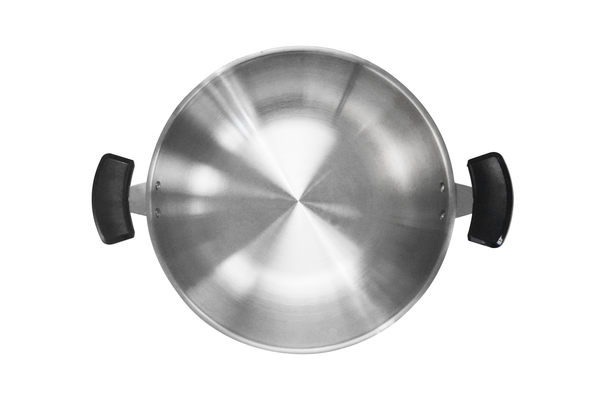 【 IYC綠能餐飲設備 】不鏽鋼炒鍋-中式雙耳平底(含蓋)