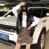 無袖皮衣 秋裝新款韓版ulzzang寬鬆學生百搭馬甲chic皮衣女士港風外套 唯伊時尚
