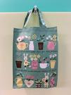 【震撼精品百貨】Gaspard et Lisa_麗莎和卡斯柏~手提袋/收納袋-花草深綠#15431