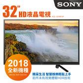 SONY索尼 32吋 HD安卓連網平面LED電視 KDL-32W610F + HDMI線