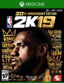 預購2018/9/11 Xbox One 美國職業籃球 NBA 2K19 20 週年紀念版中文版