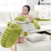 全館83折 鱷魚公仔毛絨玩具睡覺抱枕頭可愛萌韓國搞怪大玩偶女生娃娃禮物