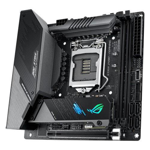 【限量不到2千 加購WD 1TB M2 SSD】 ASUS 華碩 ROG STRIX Z490-I GAMING LGA1200 腳位 mini-iTX 主機板