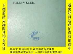 二手書博民逛書店罕見Optics(光學)Y233424 Miles V. Klein Wiley Internation