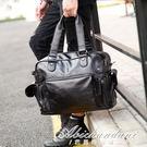 男包側背包斜背包男士包包手提包休閒潮流包旅行包潮 igo黛尼時尚精品