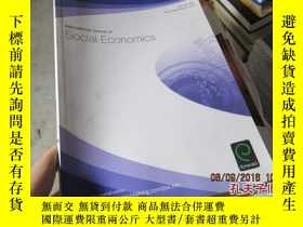 二手書博民逛書店international罕見journal of social