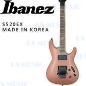 【非凡樂器】Ibanez S520EX『S系列超薄琴身』電吉他/原廠公司貨/金屬霧光色