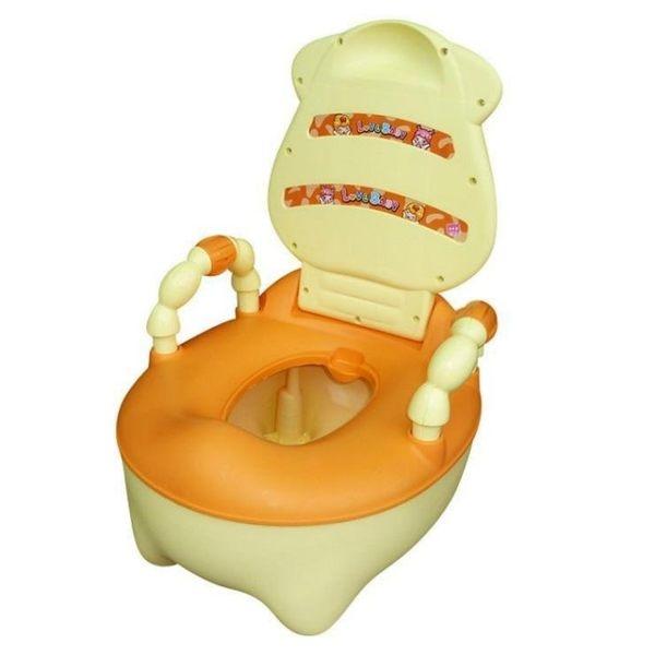 *粉粉寶貝玩具*新款可愛乳牛兒童座便器 牛牛便器 便盆 坐便器 拿取式便盆