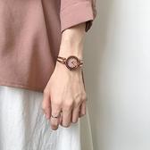 北歐輕奢小眾手錶女學生韓版簡約小錶盤復古港風文藝小巧精致chic 韓國時尚週