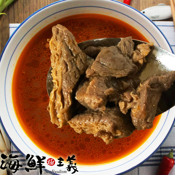 紅龍牛肉湯(450g/包) ※平均每8秒就賣出一包的好成績 【海鮮主義】
