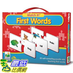 [美國直購] 2016美國暢銷兒童書 First Words The Learning Journey Match It!