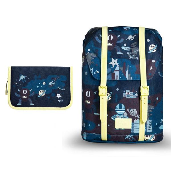 【贈鉛筆袋+橡皮擦】挪威 Frii 輕量護脊書包-2020新款(6款可選)
