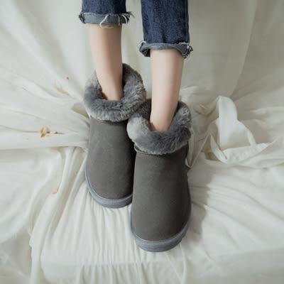 靴.真皮防潑水雪靴(駝、黑、灰)-FM時尚美鞋-Neu Tral.  chilly