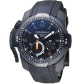 GRAHAM格林漢Chronofighter Prodive潛水腕錶  2CDAB.B02A.K80H