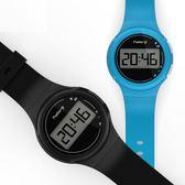 迪卡儂 運動手錶男 數字式學生兒童女多功能防水電子表☌zakka