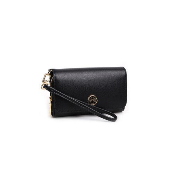 Tory burch 340026 女士黑色錢包休閑時尚手拿包