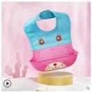 飯兜 寶寶吃飯圍兜嬰兒童小孩喂食大號免洗防口水立體超軟硅膠飯兜圍嘴寶貝計畫 上新