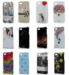 【Apple配件】香港 Comma 品牌 iPhone4S 七彩瓷系列彩殼