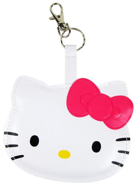 【卡漫城】 Hello Kitty 皮革 卡片套 粉色 ㊣版 悠遊卡 證件夾 車票套 名牌套 姓名吊牌