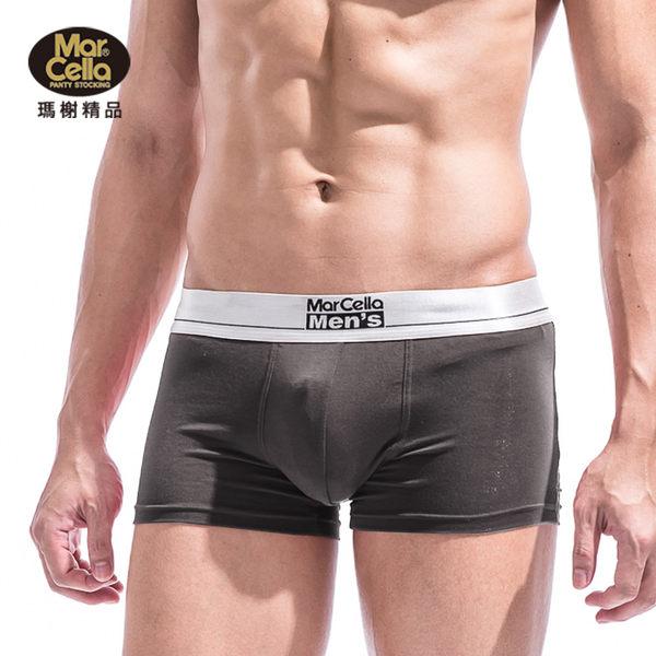 瑪榭 短版織帶超柔軟貼身男平口褲 MM-51351