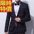 西裝外套熱銷焦點-創意學院風優質隨性男西服(單件外套)1色59t5【巴黎精品】