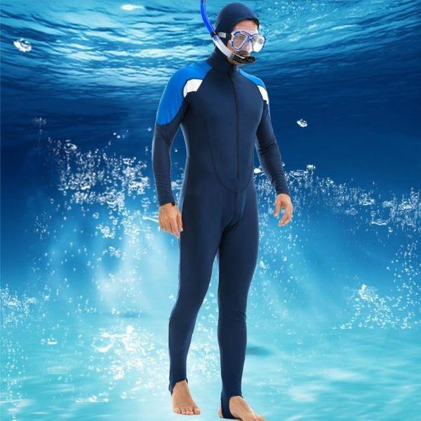 618大促男女童大碼兒童潛水服女水母衣