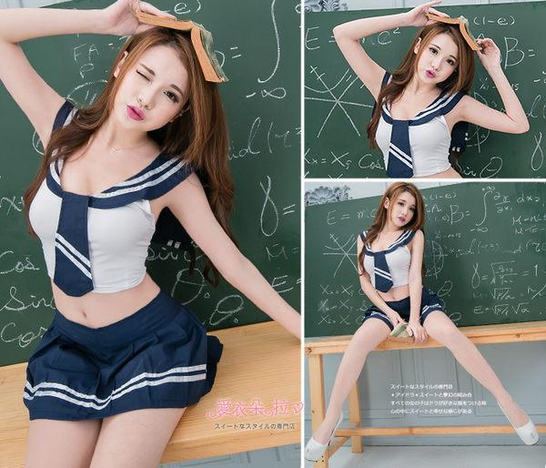 水手服 制服 角色扮演性感學生服 中大尺碼 學生裝-愛衣朵拉