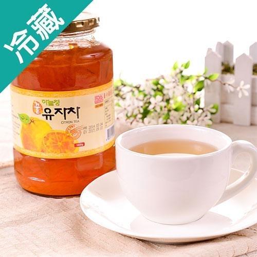 韓國嚴選黃金柚子茶1KG/罐【愛買冷藏】